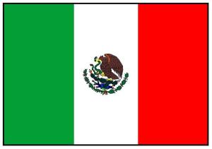 Just in case you've forgotten what the Mexican flag looked like.