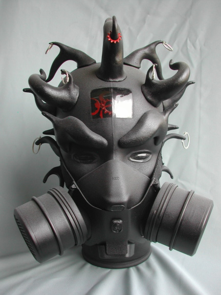 They could have used this gas mask for Big Van Vader.