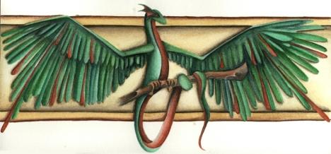 A Native American interpretation of a dragon.