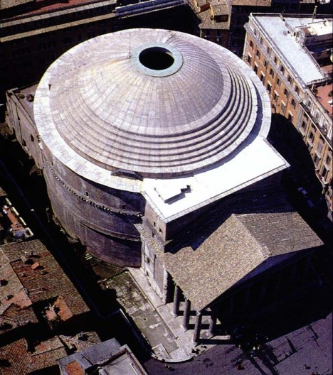 Only I would draw parallels between the Pantheon and Mellon Arena.