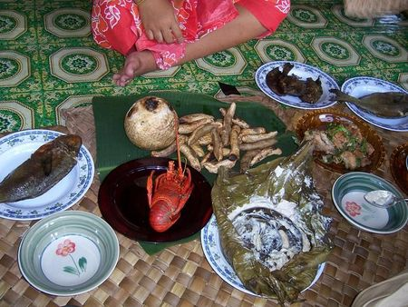 This is just Joe's food at his home in Samoa.