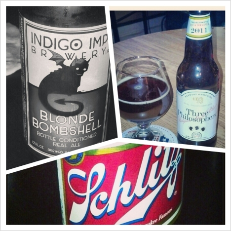 Indigo Three Philosphers Schlitz