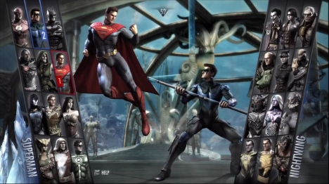Injustice has 24 playable characters, with DLC promising to add more in the future.