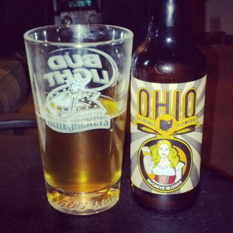 Ohio Brewing Buckeye Blond