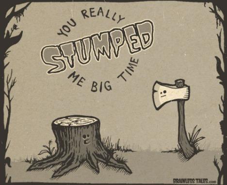 stumped-me-big-time