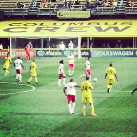 Red Bulls vs The Crew