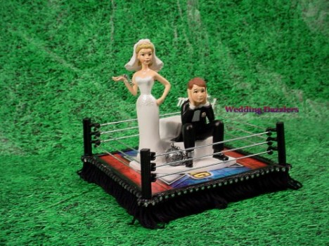 wrestling_fan_wedding cake