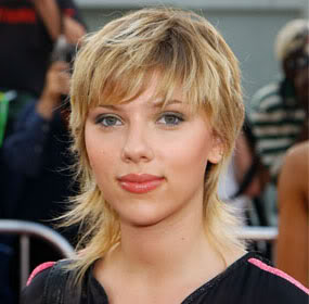 Scarlett Johansson can get away with a mullet. Michael Elgin can not.