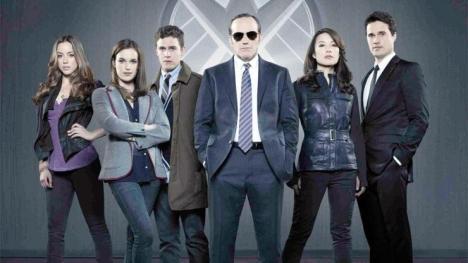 Skye, Leo Fitz, Agent Coulson, Melinda May
