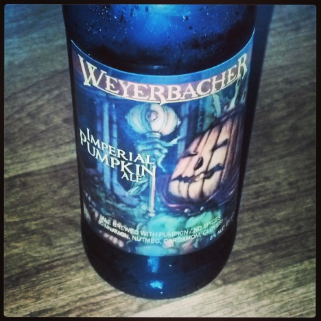 Weyerbacher Pumpkin Ale