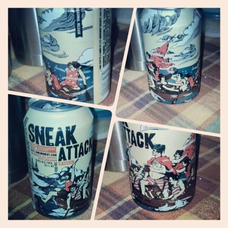 21stAmendment Sneak Attack Saison