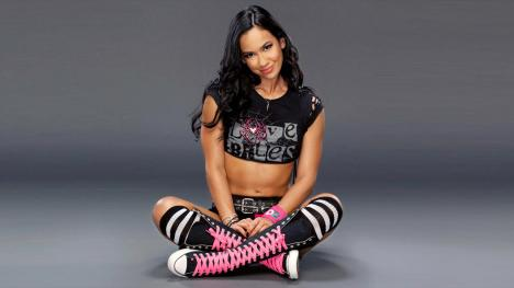 AJ Lee Seated