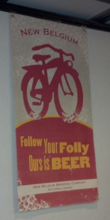 New Belgium Sign