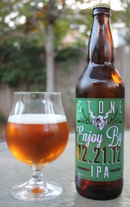 Stone Enjoy By 12-21-12 IPA S