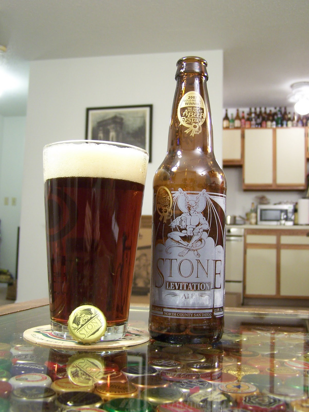 Stone Levitation Beer : Sippytimebeer review a round table of drunks part