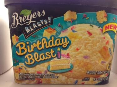 Breyers Blasts! Birthday Blast Frozen Dairy Dessert