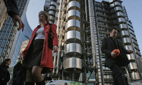 The Lloyds of London Building by Richard Rogers from theguardian.com