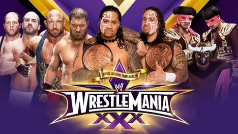 wwe-wrestlemania-30-wwe-wrestlemania-xxx-tag-team-fatal-4-way-championship-match-the-real-americans-vs-rybaxel-vs-the-usos-vs-los-matadores