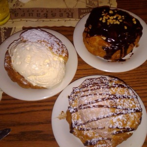 If you want a tasty cream puff when you come to Cbus, go to Schmidt's in German Village.