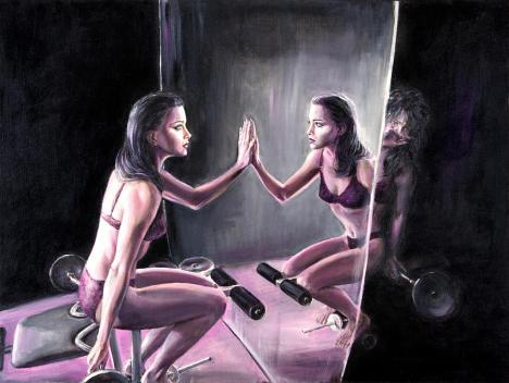 Self Loathing by Evelyn Astegno from fineartamerica.com