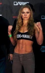 Ronda Rousey wants to be part of the Shield. From sport.pl